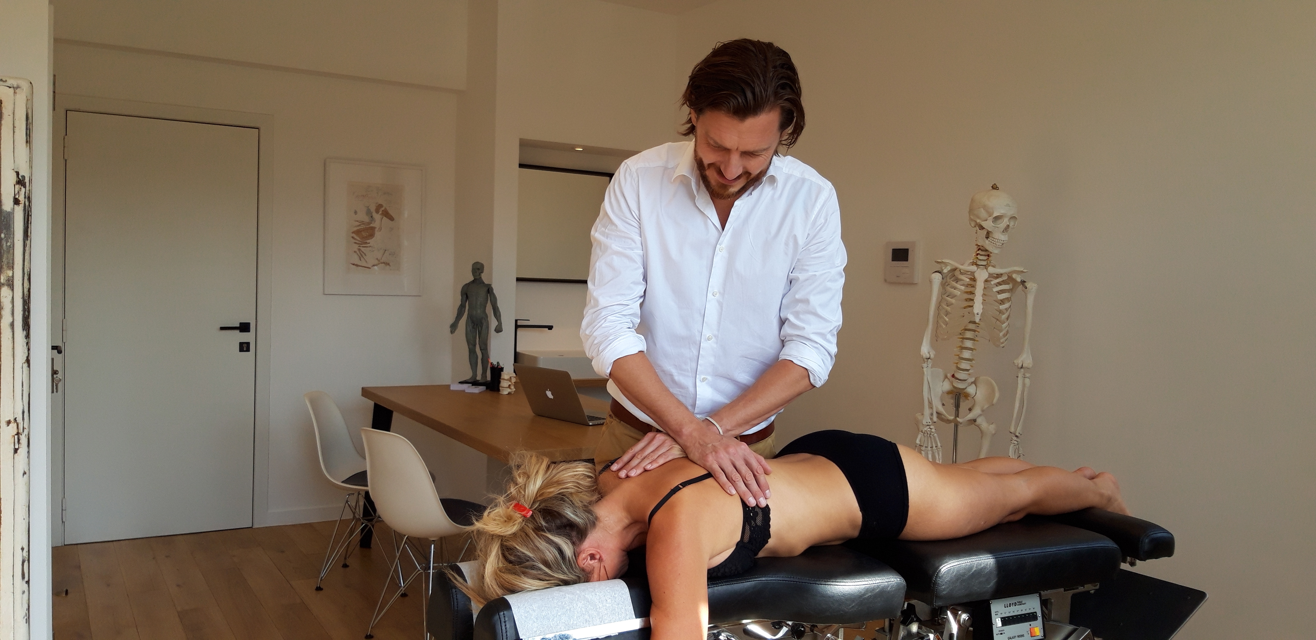 chiropractor Michel Moyson Antwerpen